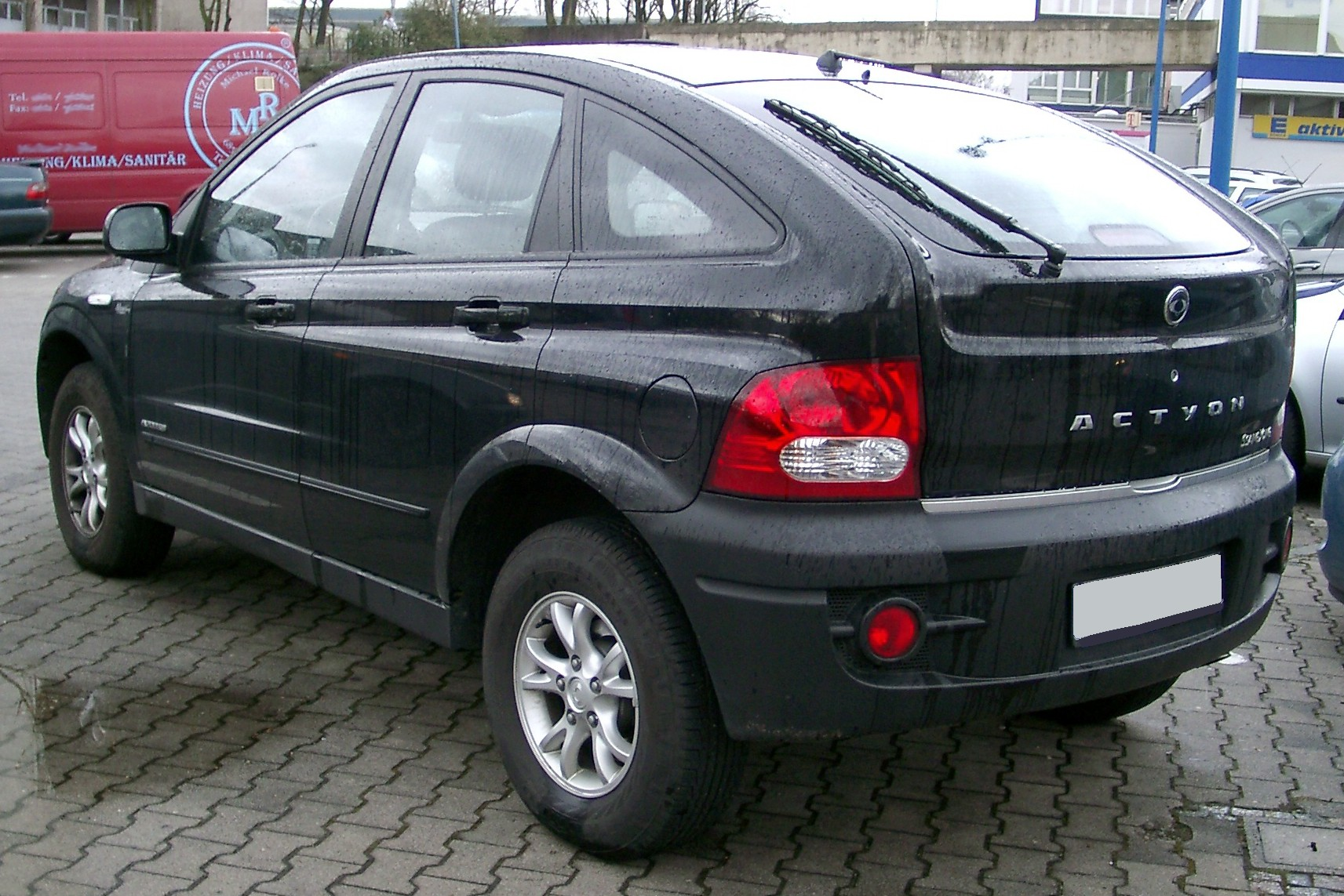 SsangYong Actyon I: 03 фото