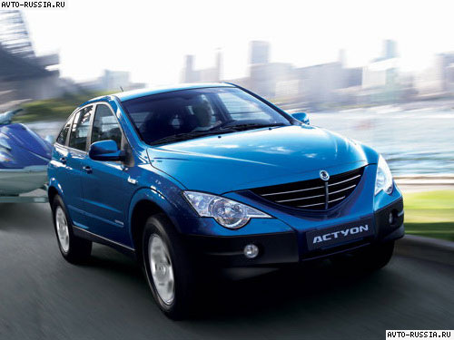 SsangYong Actyon I: 05 фото
