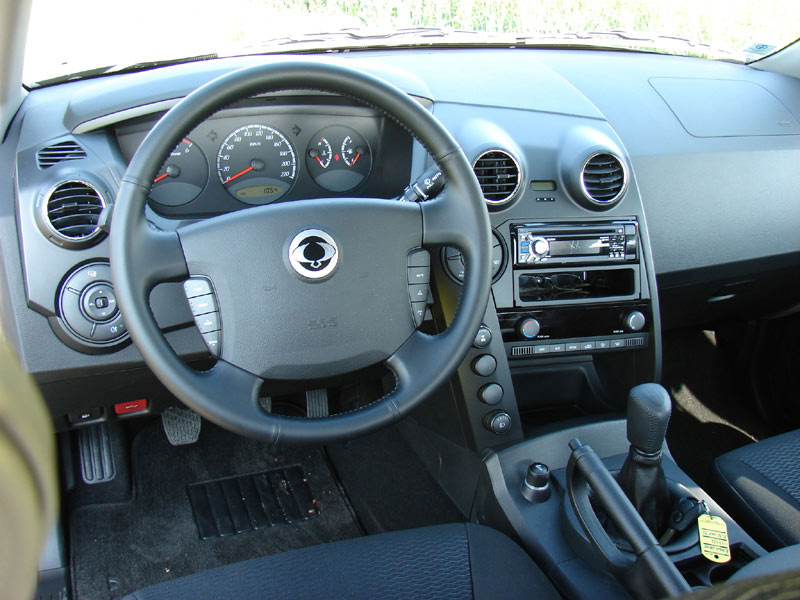SsangYong Actyon I: 09 фото