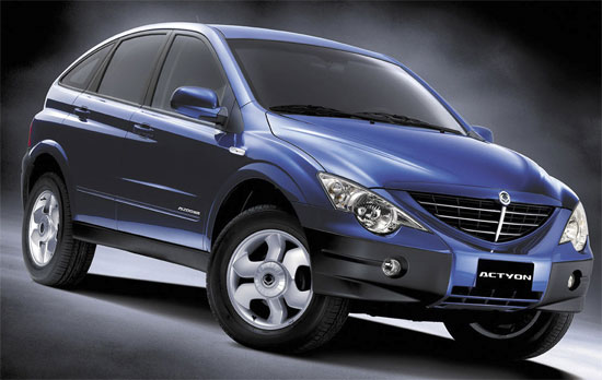 SsangYong Actyon I: 10 фото