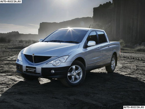 SsangYong Actyon Sports: 02 фото
