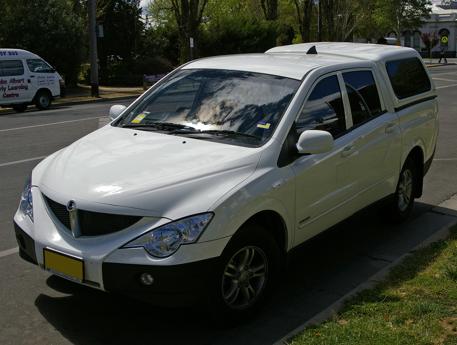 SsangYong Actyon Sports: 06 фото