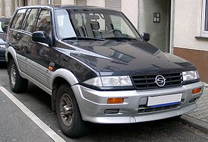 SsangYong Musso: 01 фото