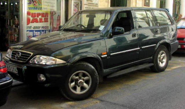 SsangYong Musso: 05 фото