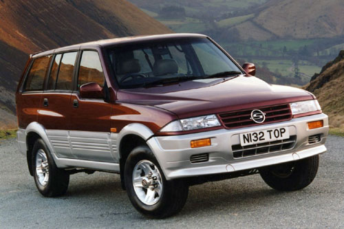 SsangYong Musso: 06 фото