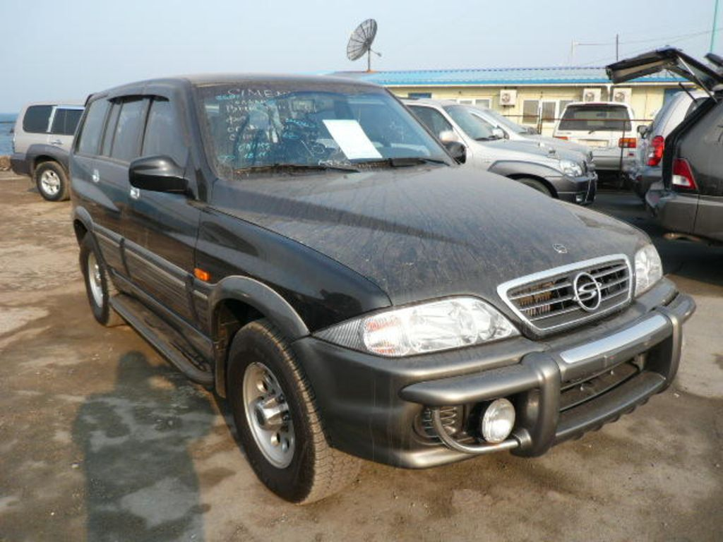 SsangYong Musso: 08 фото