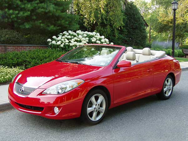 Toyota Camry convertible: 04 фото
