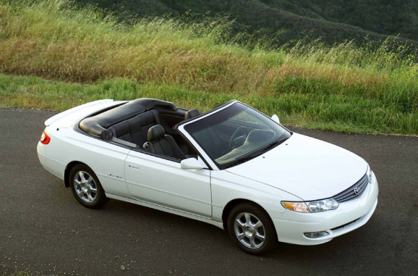 Toyota Camry convertible: 06 фото