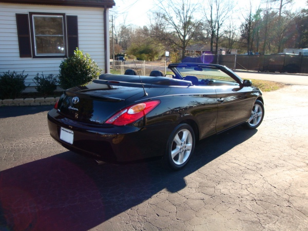 Toyota Camry convertible: 12 фото