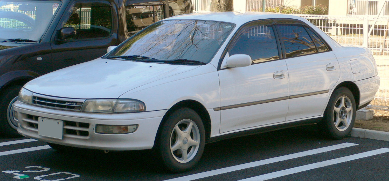 Toyota carina 08 фото