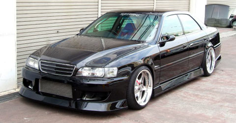 Toyota Chaser: 14 фото
