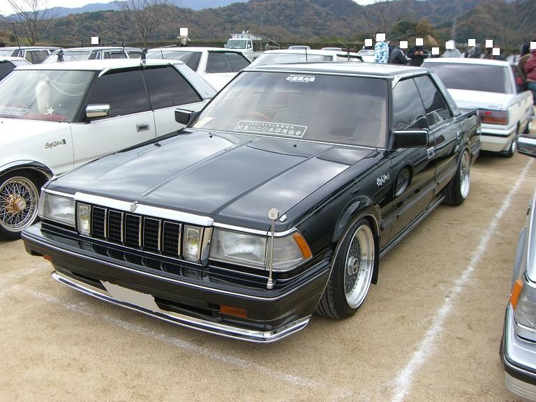 Toyota Crown S130: 4 фото