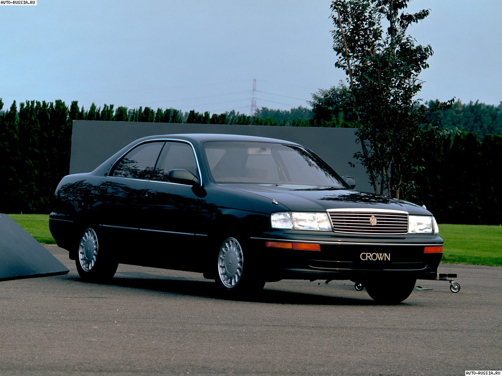Toyota Crown S140: 02 фото