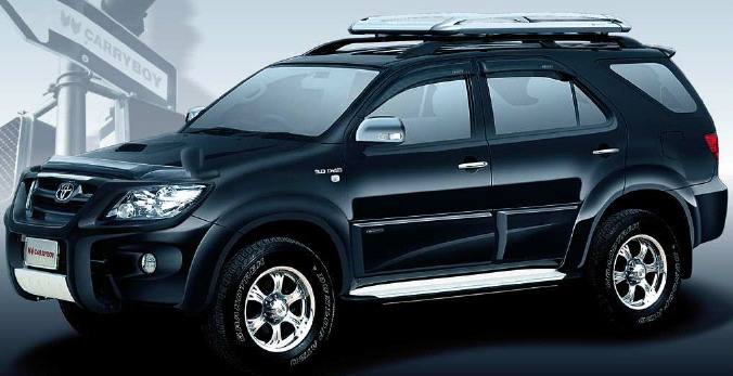 Toyota Fortuner: 6 фото