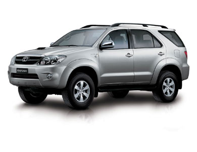 Toyota Fortuner: 7 фото