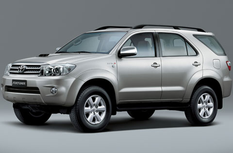 Toyota Fortuner: 8 фото