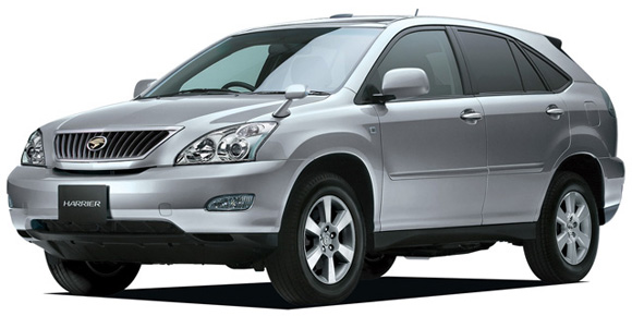 Toyota Harrier: 04 фото