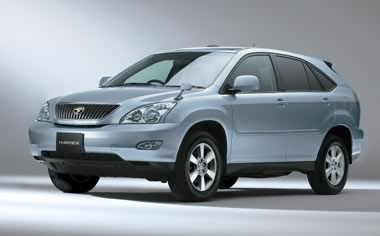 Toyota Harrier: 5 фото