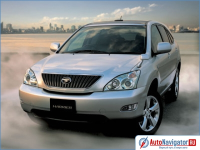 Toyota Harrier: 06 фото
