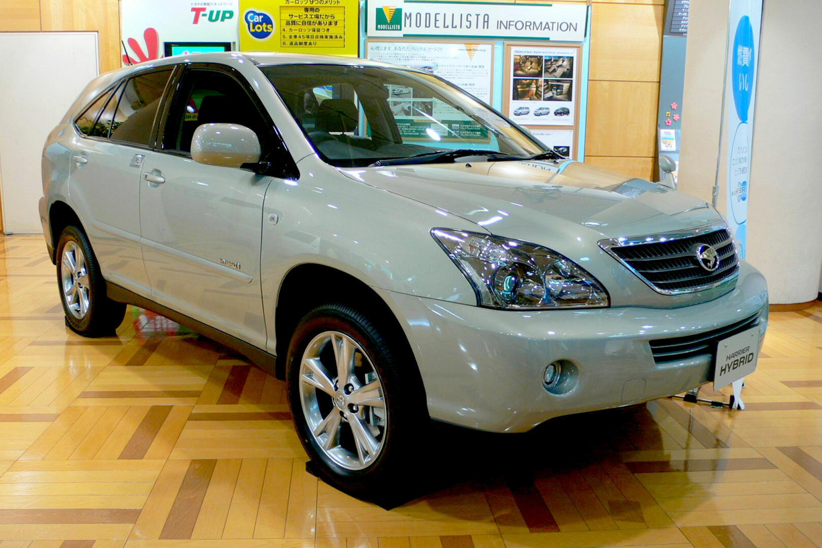 Toyota Harrier: 09 фото