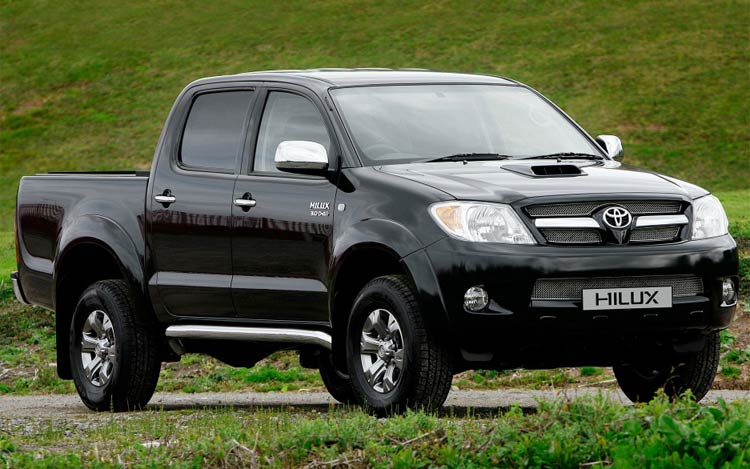 Toyota Hilux Pick Up: 10 фото