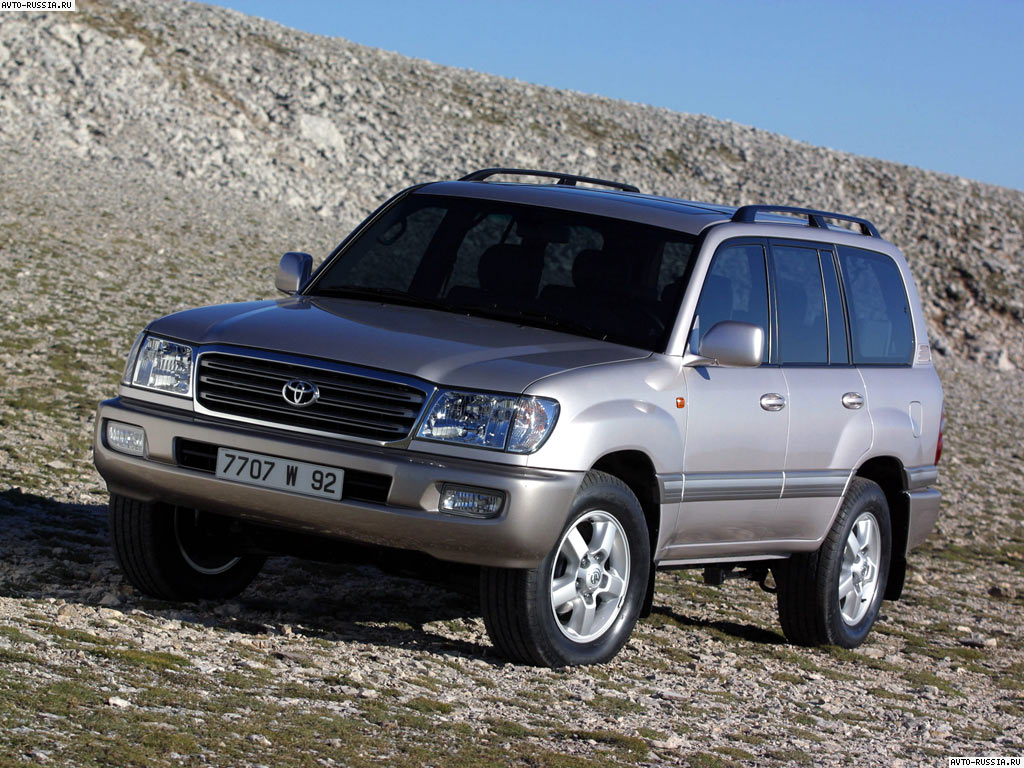Toyota Land Cruiser 100: 02 фото