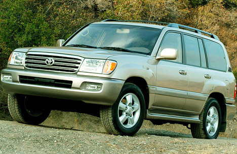 Toyota Land Cruiser 100: 4 фото