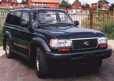 Toyota Land Cruiser 80: 07 фото
