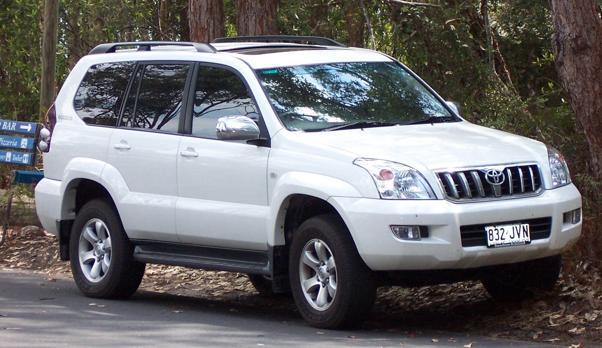Toyota Land Cruiser Prado: 1 фото