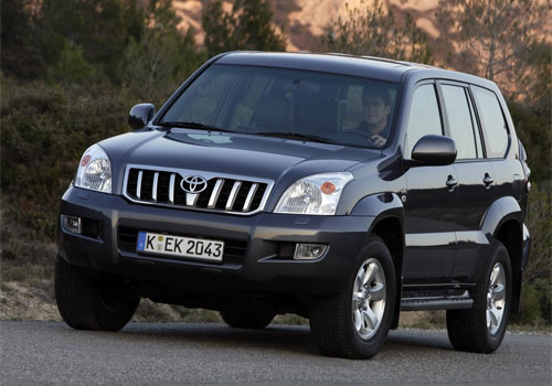 Toyota Land Cruiser Prado: 5 фото