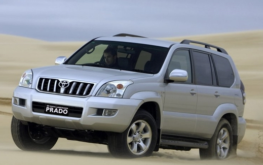 Toyota Land Cruiser Prado: 7 фото