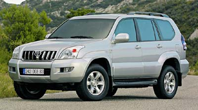 Toyota Land Cruiser Prado: 12 фото