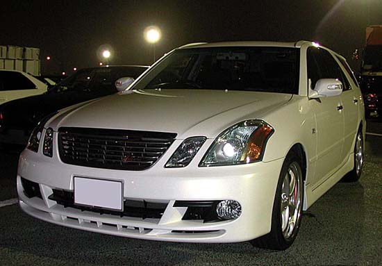 Toyota Mark II Wagon Blit: 05 фото