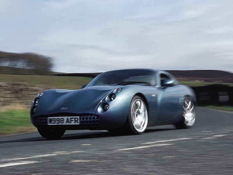 TVR Tuscan: 10 фото