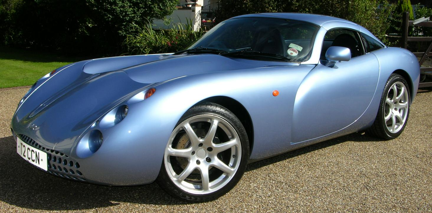 TVR Tuscan: 11 фото