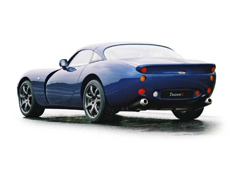TVR Tuscan: 12 фото