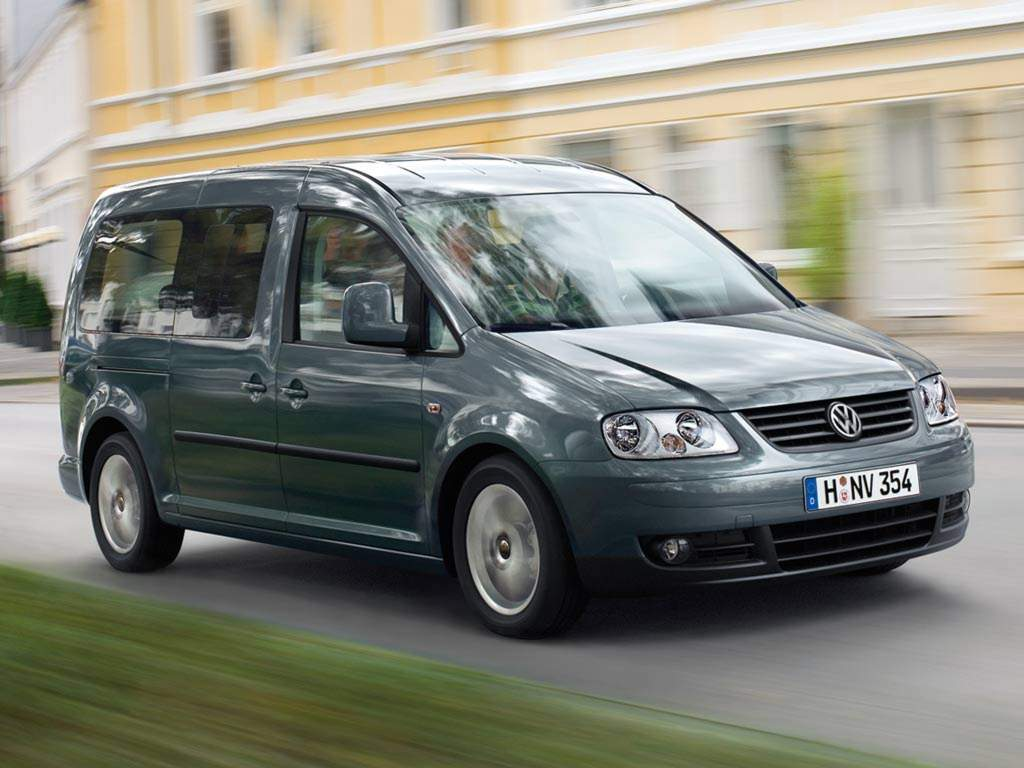 Volkswagen Caddy I: 09 фото