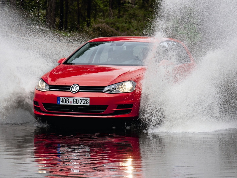 Volkswagen golf bluemotion: 10 фото