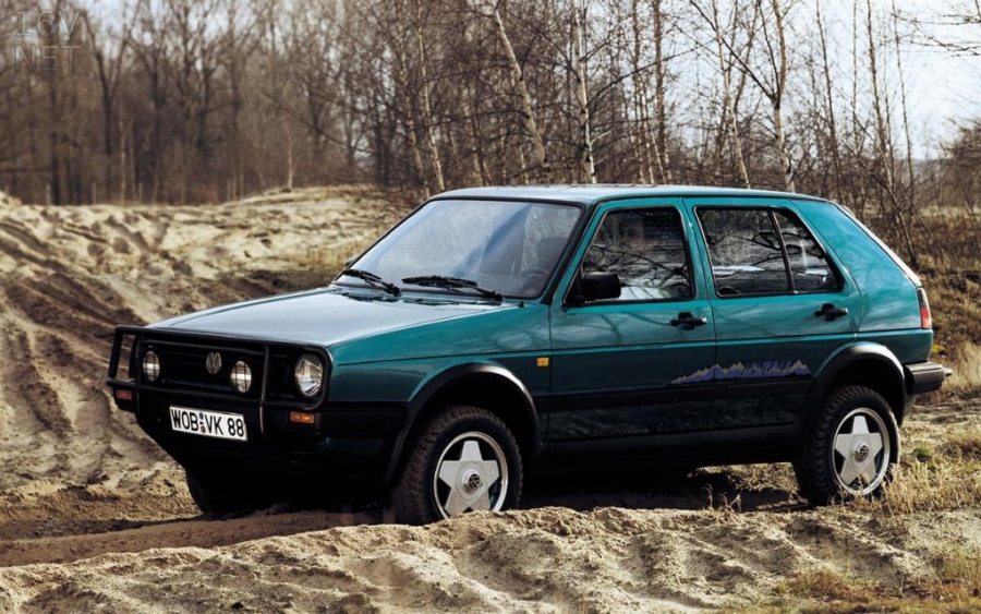 Volkswagen golf country: 11 фото