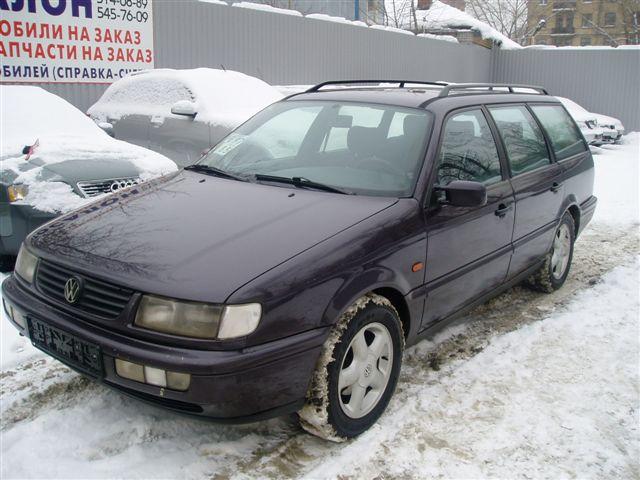 Volkswagen Passat B4: 07 ф…