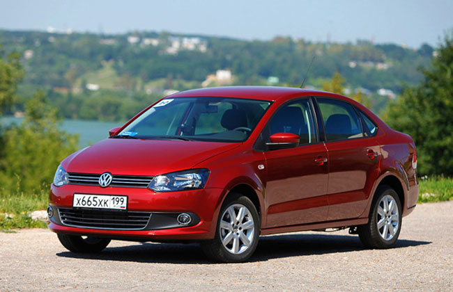 Volkswagen Polo Sedan - 650 x 420, 13 из 13